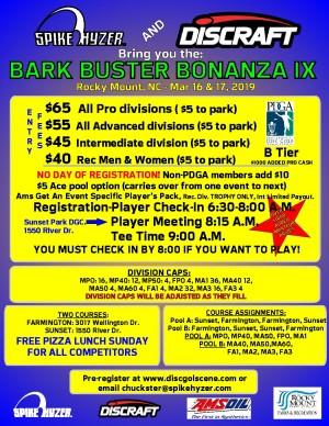 Spike Hyzer's: Bark Buster Bonanza IX graphic