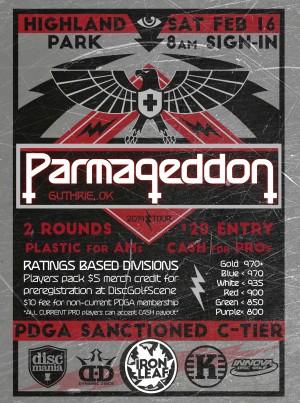 Parmageddon Guthrie graphic