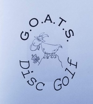 GOATS disc golf Finale at the Farm graphic