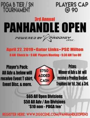 The Panhandle Open 3 Powered by Prodigy graphic