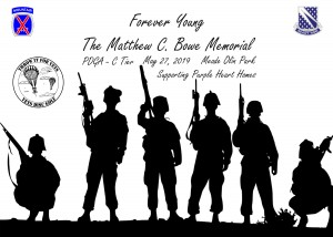 Forever Young - The Matthew C. Bowe Memorial - Presented by Vets Disc Golf graphic