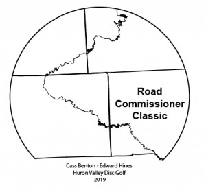 Road Commissioner Classic (MA1,MA3,MA50,MA60,FA1,FA3) presented by Discraft graphic