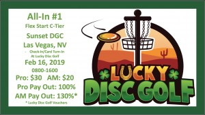 Lucky Disc Golf All-In #1 graphic