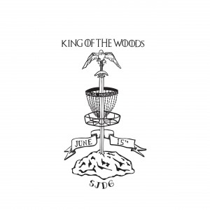 King of the Woods - Driven by Innova - Sponsored by Adidas Outdoor graphic