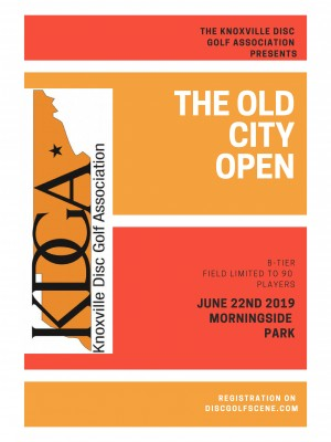The 2019 Old City Open Sponsored by Dynamic Discs graphic