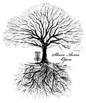 Shore Acres Open - Driven by INNOVA - MP40, MA1, MA3, MA50+, Am Women, Juniors graphic