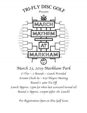 March Mayhem at Markham graphic