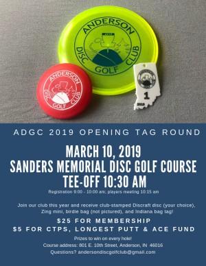 2019 ADGC Season Opener graphic