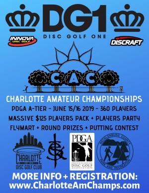 DG1 Presents: The Charlotte Amateur Championship graphic