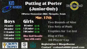 Putting at Porter (Junior Only) graphic