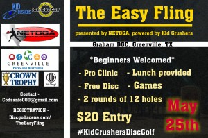 The Easy Fling, presented by NETDGA, powered by Kid Crusher (junior-only C-tier) graphic