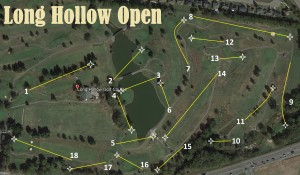 Long Hollow Open Ignited by Nashville Disc Golf Store graphic