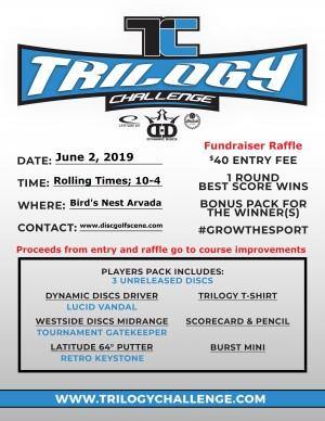 Trilogy Challenge 2019 Fundraiser for Bird's Nest graphic