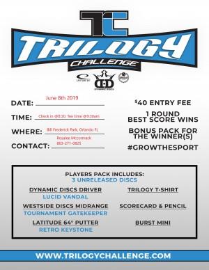 2019 Trilogy Challenge @ TLP Orlando graphic