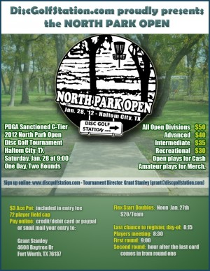 North Park Open graphic