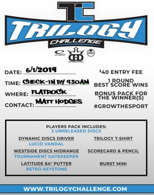 Trilogy Challenge 2019 @ The Rock graphic