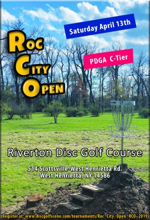 Roc City Open (RCO) graphic
