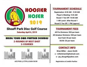 2019 Hoosier Hoser Doubles graphic
