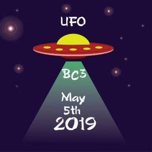 The UFO at BC3 graphic