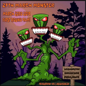 27th Annual March Monster graphic