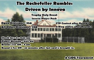 The Rockefeller Rumble: Driven by Innova graphic