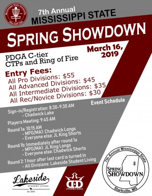 7th Annual Mississippi State Spring Showdown graphic