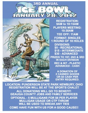 3rd Annual Friends of Punderson Ice Bowl graphic