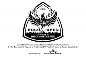 RoCo Open Presented by Smoky Mountain Discs graphic