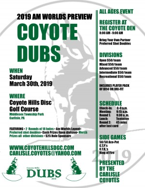 Am Worlds Preview - Coyote Dubs graphic