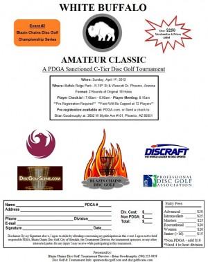 White Buffalo Amateur Classic graphic