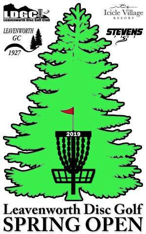 Leavenworth Disc Golf Spring Open Tournament graphic