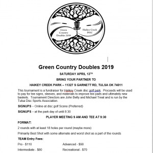 Green Country Doubles 2019 graphic