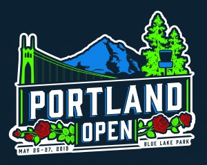 The Portland Open - Disc Golf Pro Tour graphic