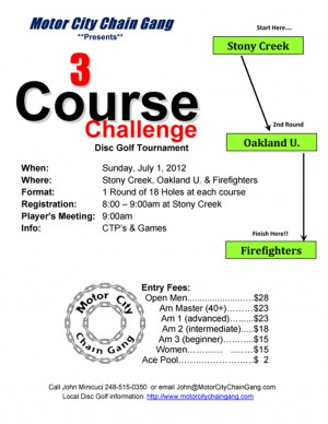 3 Course Challenge graphic