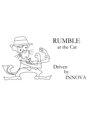 4TCDG - Rumble at the Cat - Driven by INNOVA graphic