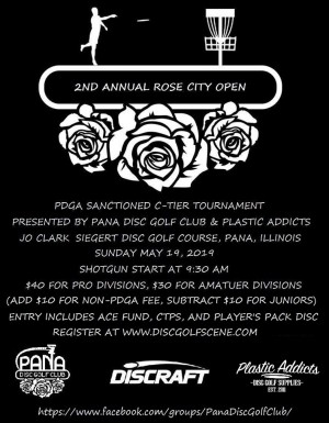 2nd Annual Rose City Open graphic