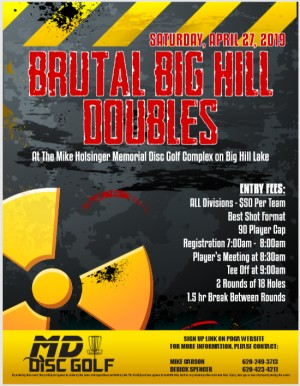Brutal Big Hill Doubles graphic
