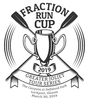 Fraction Run Cup - Greater Joliet Tour Series graphic