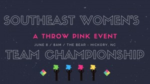 Southeast Women's Team Championship - A Throw Pink event graphic