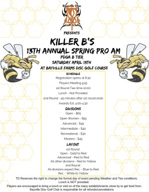 13th Annual Bayville Spring Pro/Am graphic