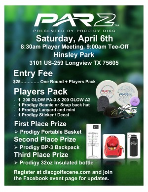 Prodigy PAR2 Lear Park Fundraiser graphic