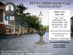 2019 Cobblestone Cup graphic