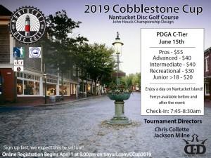 2019 Cobblestone Cup graphic