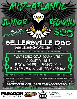 Eagles Wings JUNIOR Mid-Atlantic Regional graphic