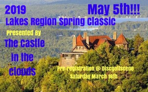 Lakes Region Spring Classic @ The Castle in the Clouds Powered by INNOVA graphic