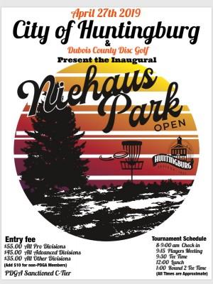 Niehaus Park Open graphic