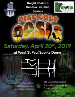 DGO 4.20 Disc Golf Oasis graphic