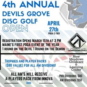 4th Annual Devils Grove Open graphic