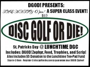 DGOD! Presents: The Matty O'pen! A Super Class Event graphic