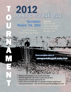 2012 Spring Invitational graphic